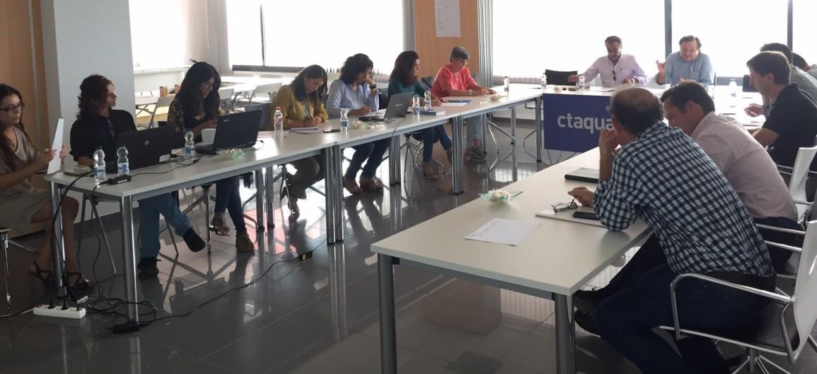 SOHISCERT participa en las mesas de trabajo de CTAQUA