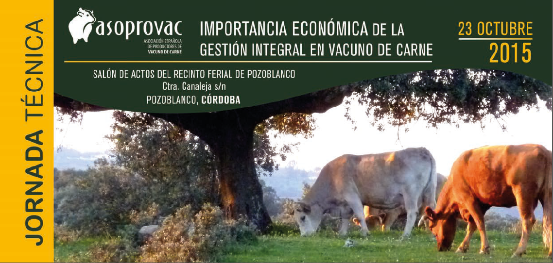 "SOHISCERT asiste a la Jornada Técnica ""Importancia Económica de la Gestión Integrada del Vacuno de Carne"""