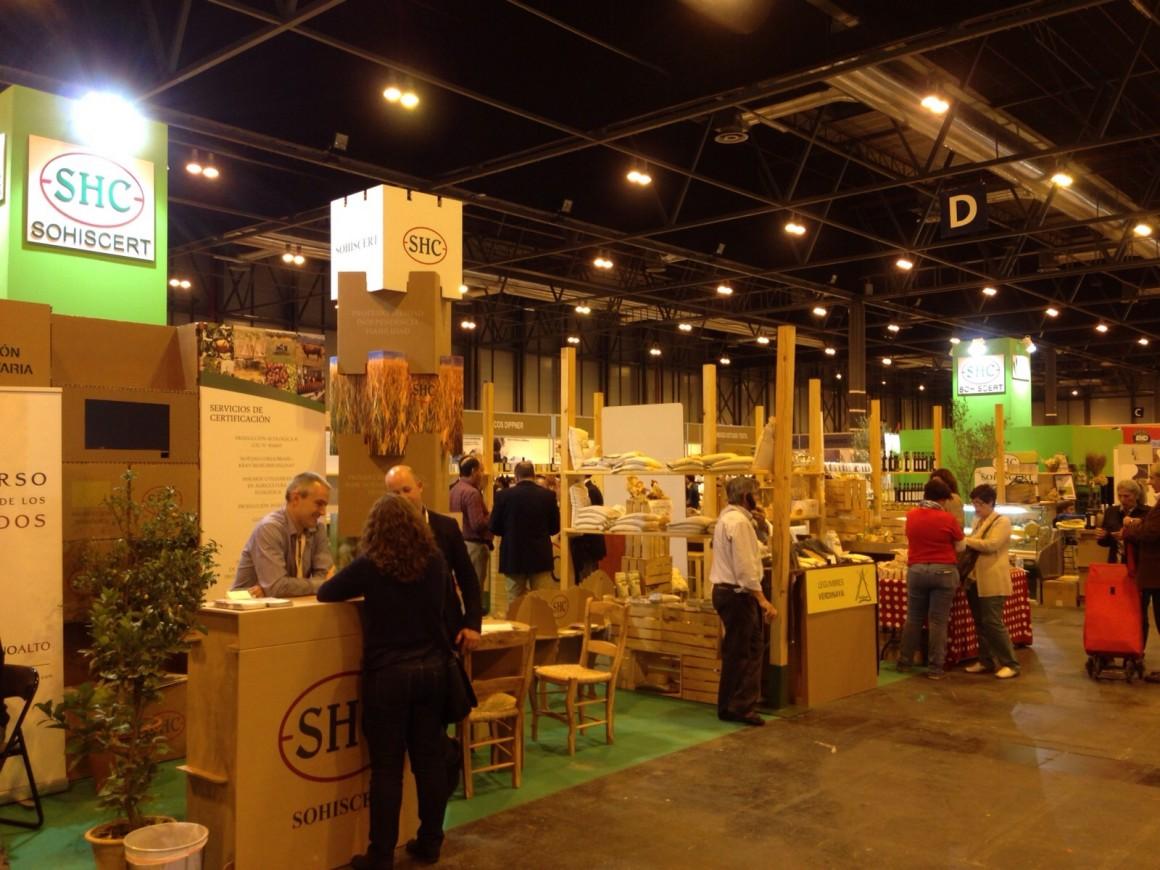 Participación de SOHISCERT en Biocultura Madrid 2015