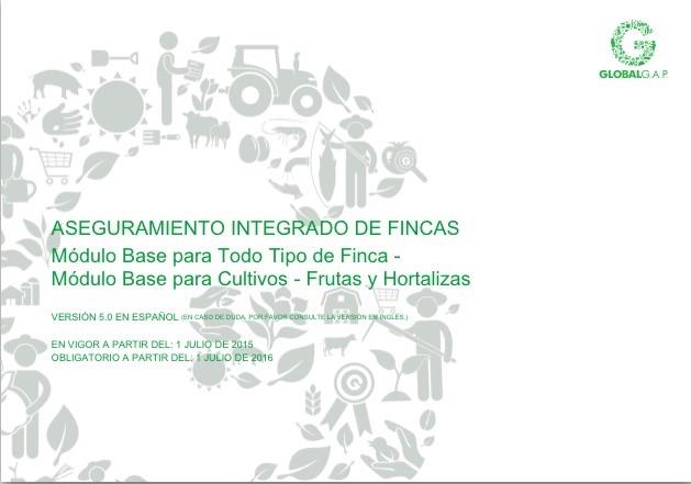 Publicación Norma Globalgap IFA V5 en español
