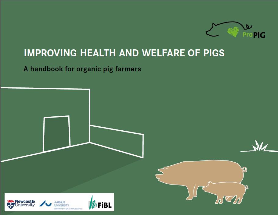 Publicación de manual para ganaderos de cerdos ecológicos