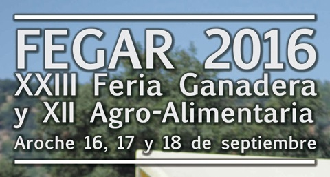 FEGAR 2016 – Feria Ganadera y Agro-Alimentaria