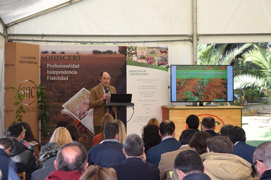 Exitosa Presentación de la Nueva Guía de Insumos para la Producción Ecológica