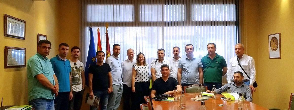 La Delegación del  Ministerio de Agricultura de Turquía visitan nuevamente SOHISCERT