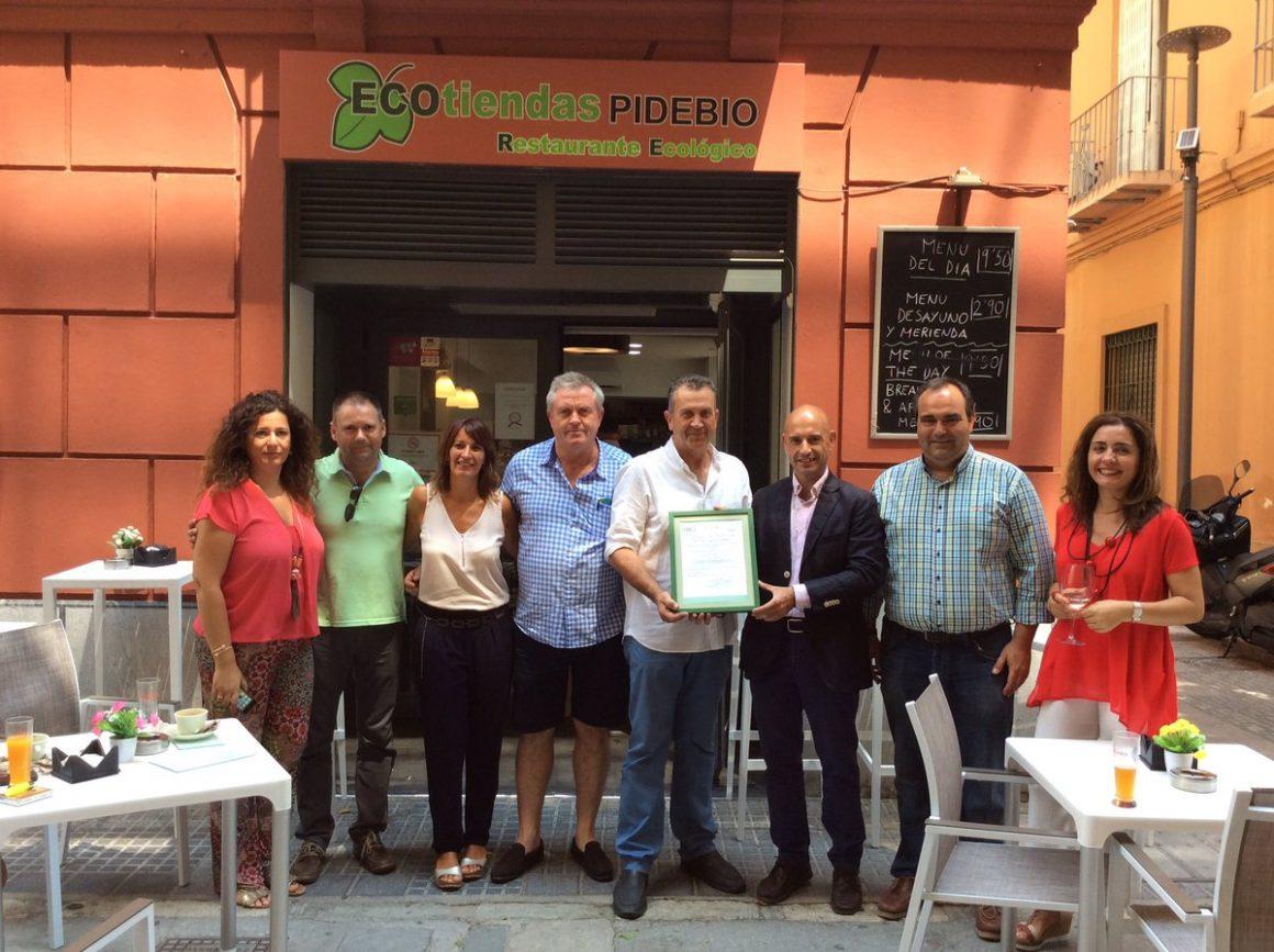 """PIDEBIO primer Restaurante certificado por SOHISCERT para la actividad de """"Restauración Ecológica"""""""
