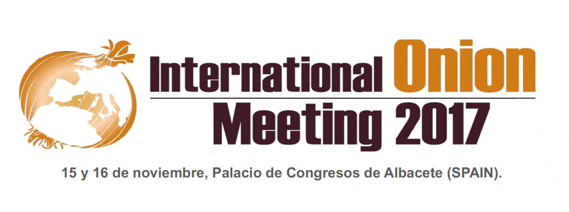 Estaremos en la International Onion Meeting