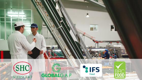 Jornada de Seguridad Alimentaria (Global G.A.P., IFS y BRC) en Almería