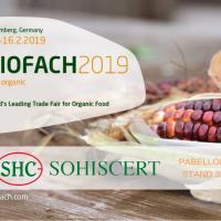 SOHISCERT presente en BIOFACH Nüremberg 2019