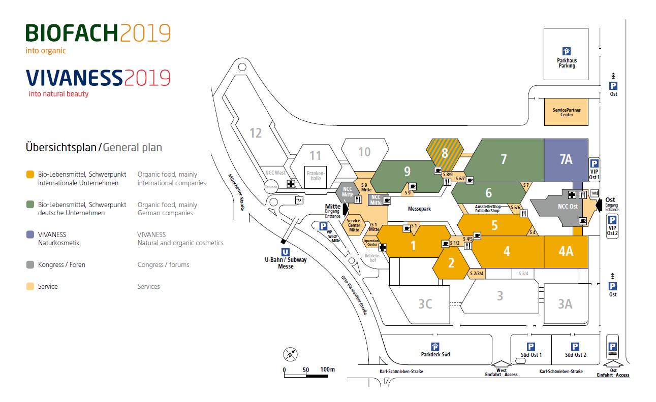 Plano Biofach 2019