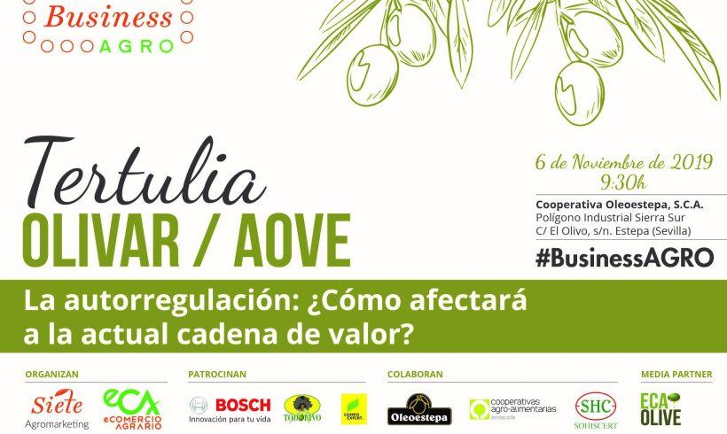 SOHISCERT, nuevo patrocinador de la IV Tertulia #BusinessAGRO sobre Olivar / AOVE