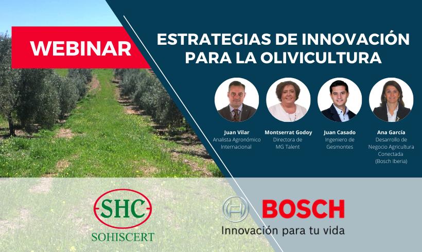 Webinar Estrategias de Innovación para la Olivicultura