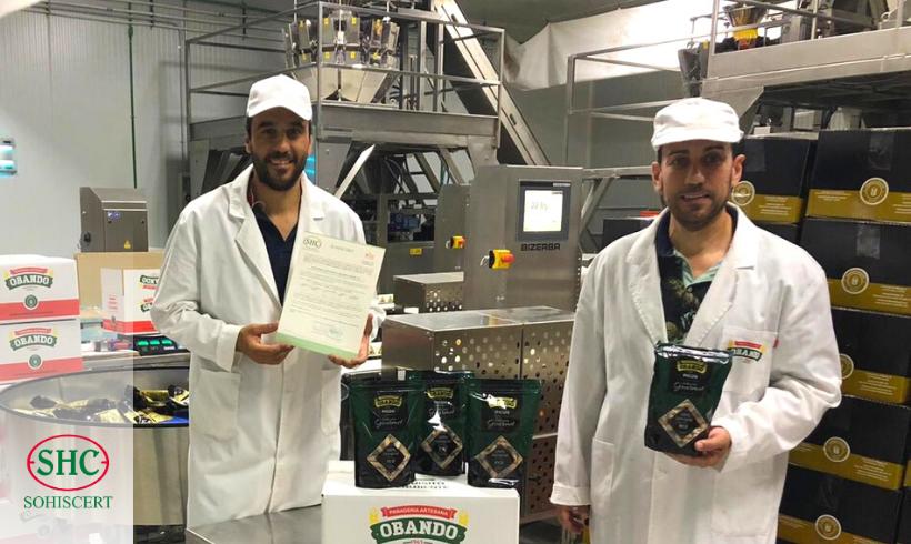 Panadería Obando obtiene la certificación en producción ecológica de SOHISCERT