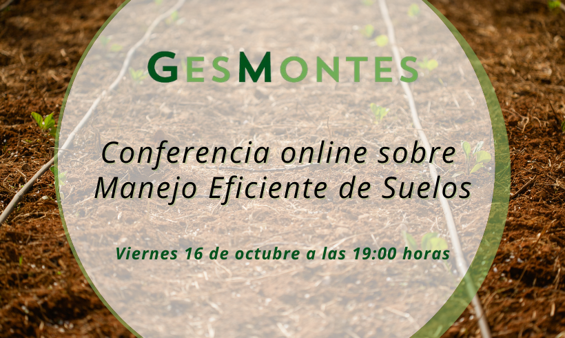 Conferencia online sobre Manejo Eficiente de Suelos