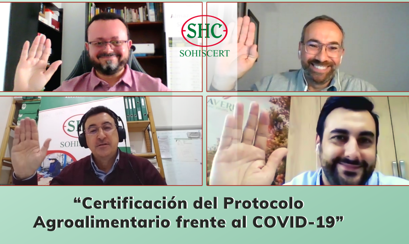 Webinar Protocolo Agroalimentario frente al Covid 19