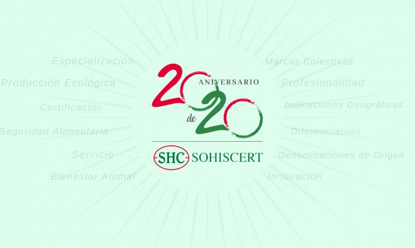 20 años de Certificación Agroalimentaria