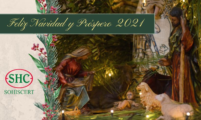 SOHISCERT les desea Feliz Navidad y Próspero 2021