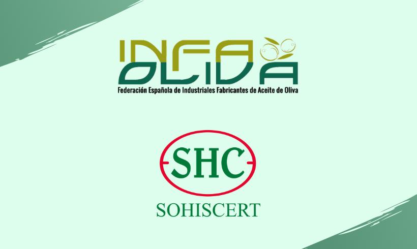 INFAOLIVA y SOHISCERT firman un convenio para impulsar el aceite de oliva ecológico