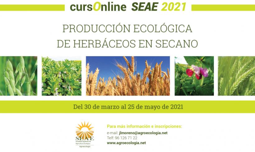 Curso Online: Producción Ecológica de Herbáceos en Secano