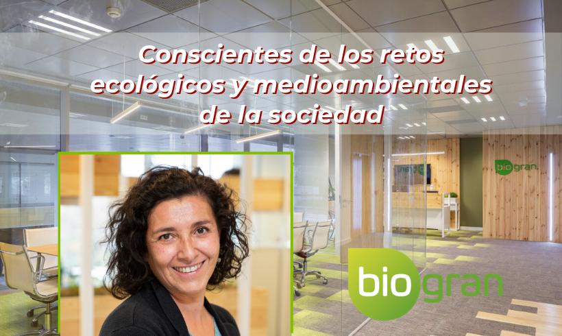 Entrevistamos a Ana González, Directora de Calidad e I+D en Ecotone Biogran