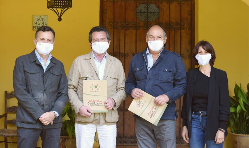 El Consejo Andaluz de Colegios Oficiales de Ingenieros Técnicos Agrícolas y SOHISCERT firman un convenio de colaboración para la mejora del desarrollo técnico agroalimentario