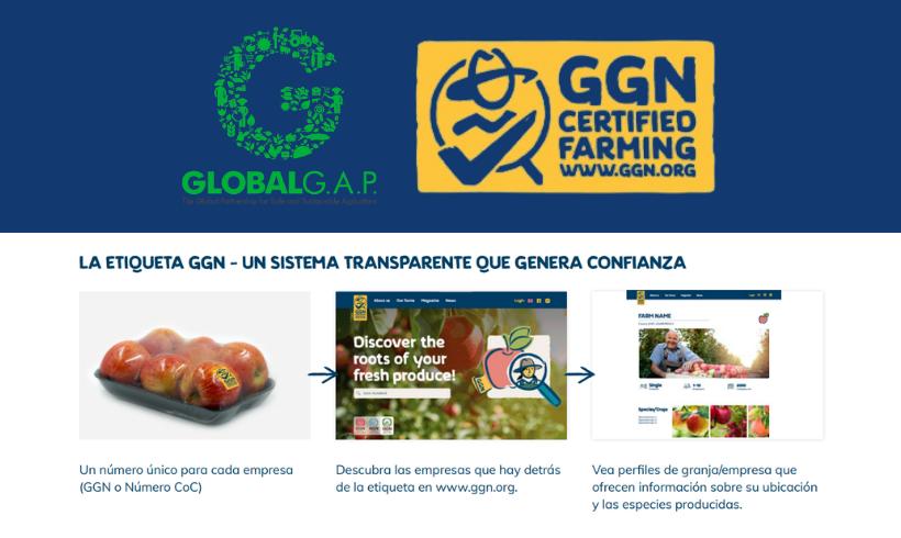 GLOBALG.A.P. ya ha presentado oficialmente su nueva etiqueta GGN, destinada al consumidor