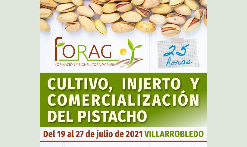 SOHISCERT participará en el Curso sobre el Cultivo, Injerto y Comercialización del Pistacho