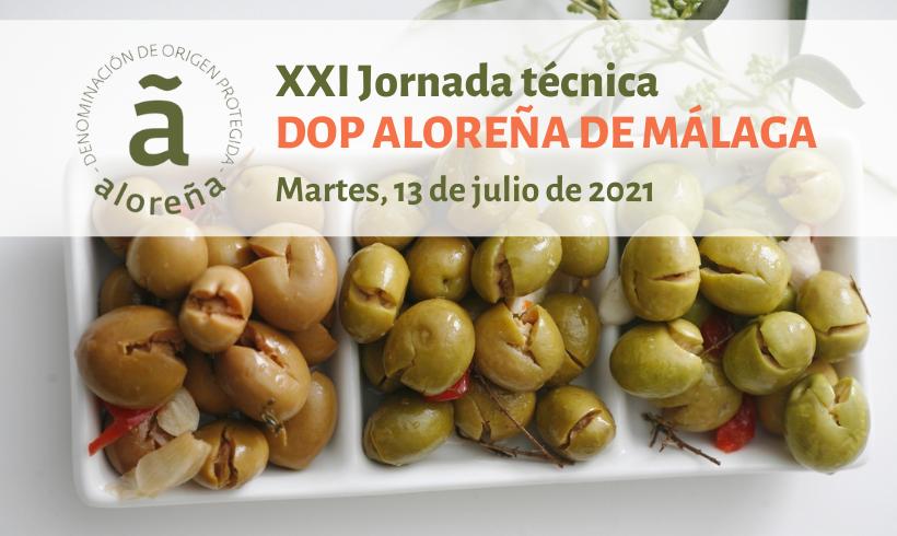 XXI Jornadas técnicas DOP Aloreña de Málaga